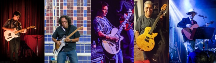 Guitarristas de blues destacados 2015