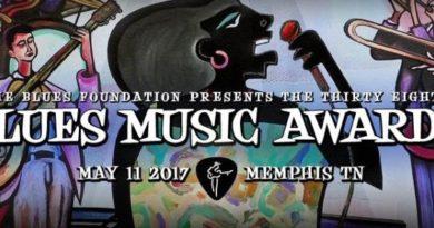 Ganadores de los Blues Music Awards 2017