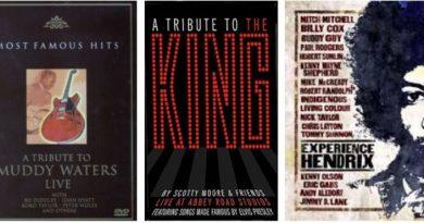 3 tributos. A Muddy, Elvis y Hendrix