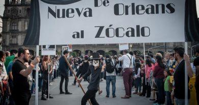 De Nueva Orleans al Zócalo: Cuando los santos marchan