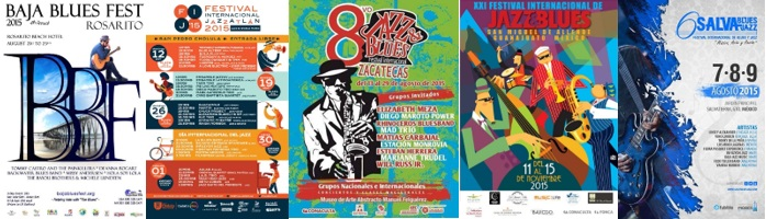 Eventos de blues internacionales destacados en 2015