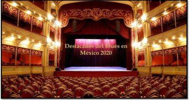 Destacados del blues en México 2020