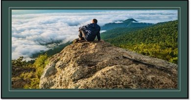 Sentado en la cima del mundo